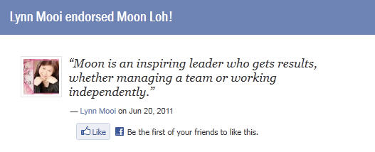 Moon Loh Testimonial