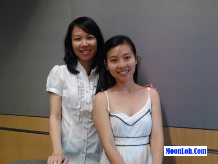 Moon Loh (Mompreneur Asia) and Elaine Lau (Todays Motherhood)