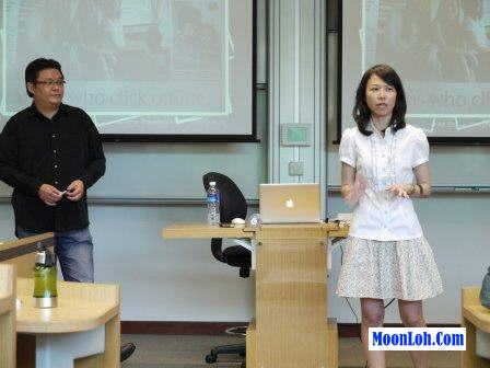 Moon Loh sharing on Internet Business