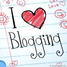 I like blogging