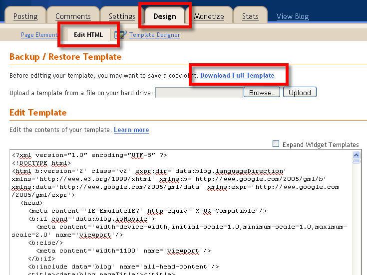 remove blogger navbar