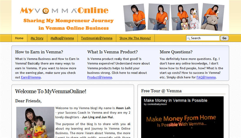 Vemma Online Business blog