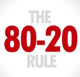 80/20 rules