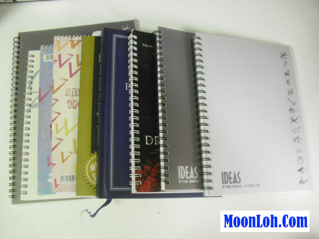 Moon Loh note books