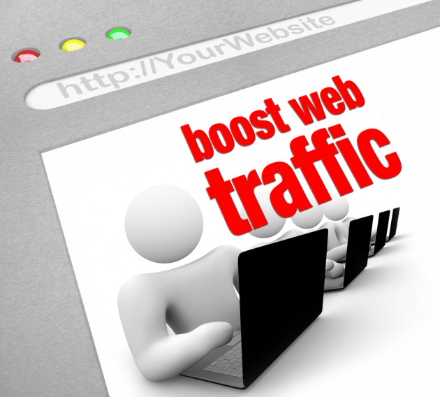 boost website traffic