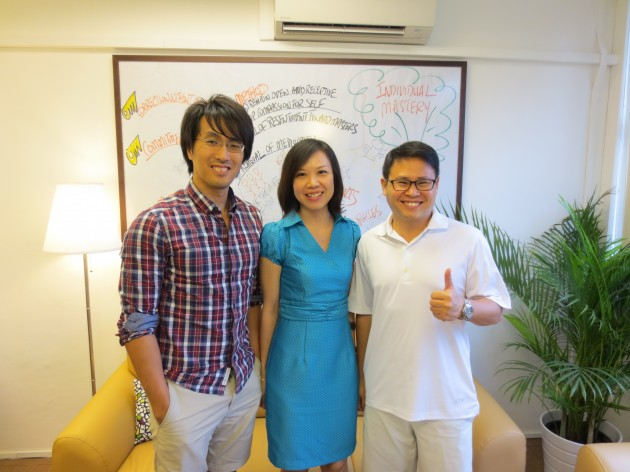 Moon Loh, Ken Chee, Adam Wong, 8 Investment Pte Ltd