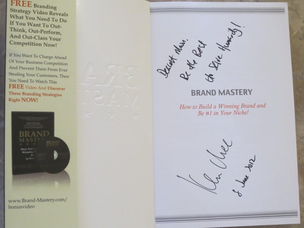 Brand Mastery - Ken Chee
