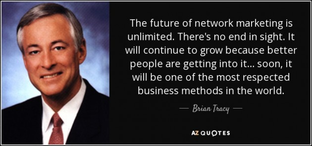 network marketing quote